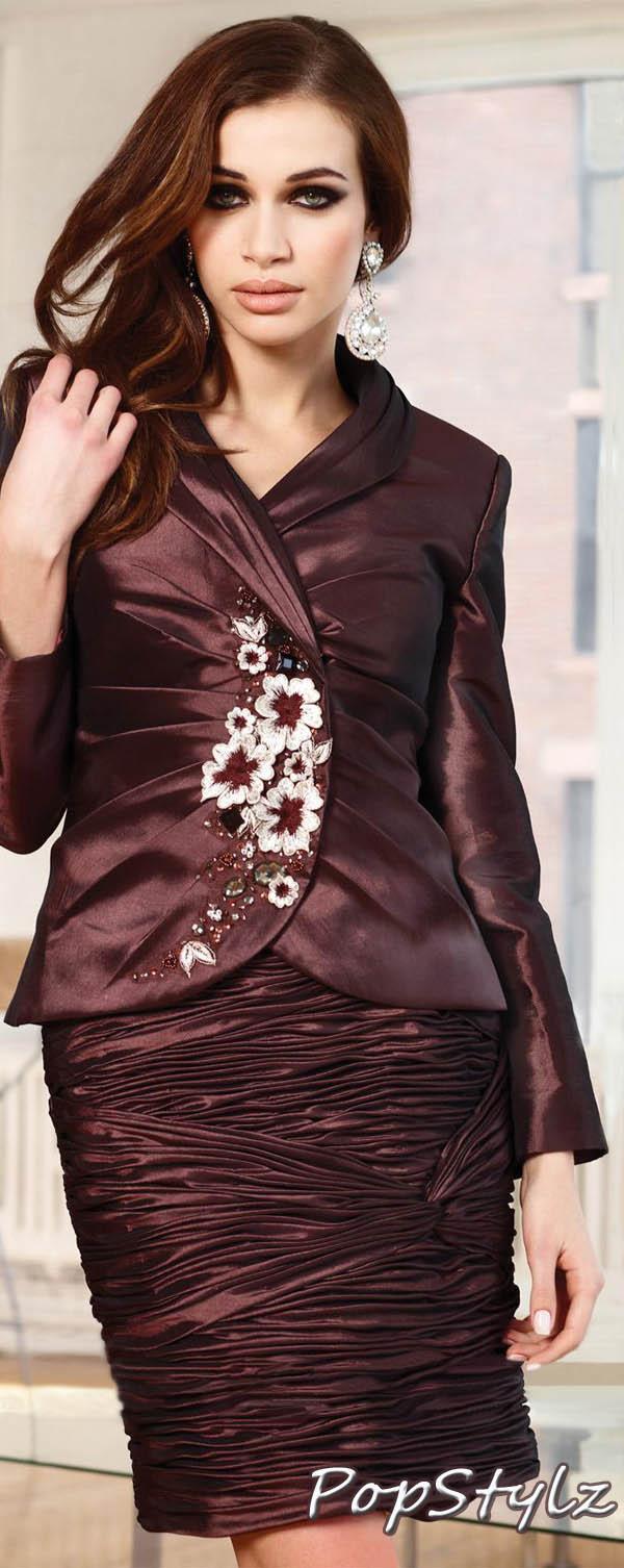 Terani Couture Brown Dress 11295S