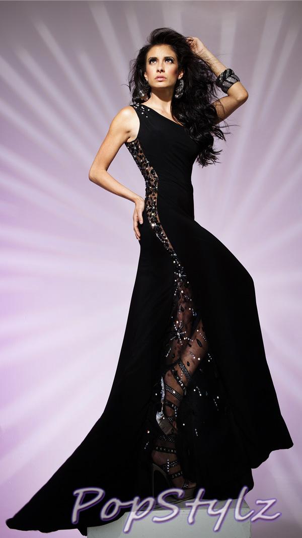 Tony Bowls Black Dress 11228