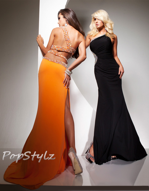 Tony Bowls Spring 2013 Black or Tangerine Dress 2351308