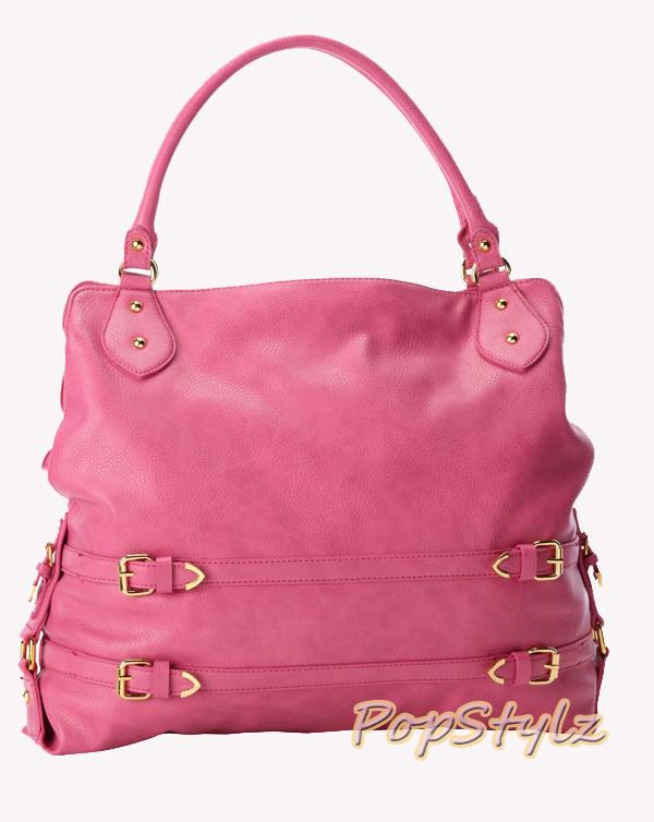 Jessica Simpson Wilshire JS5501 Fuchsia Tote Handbag