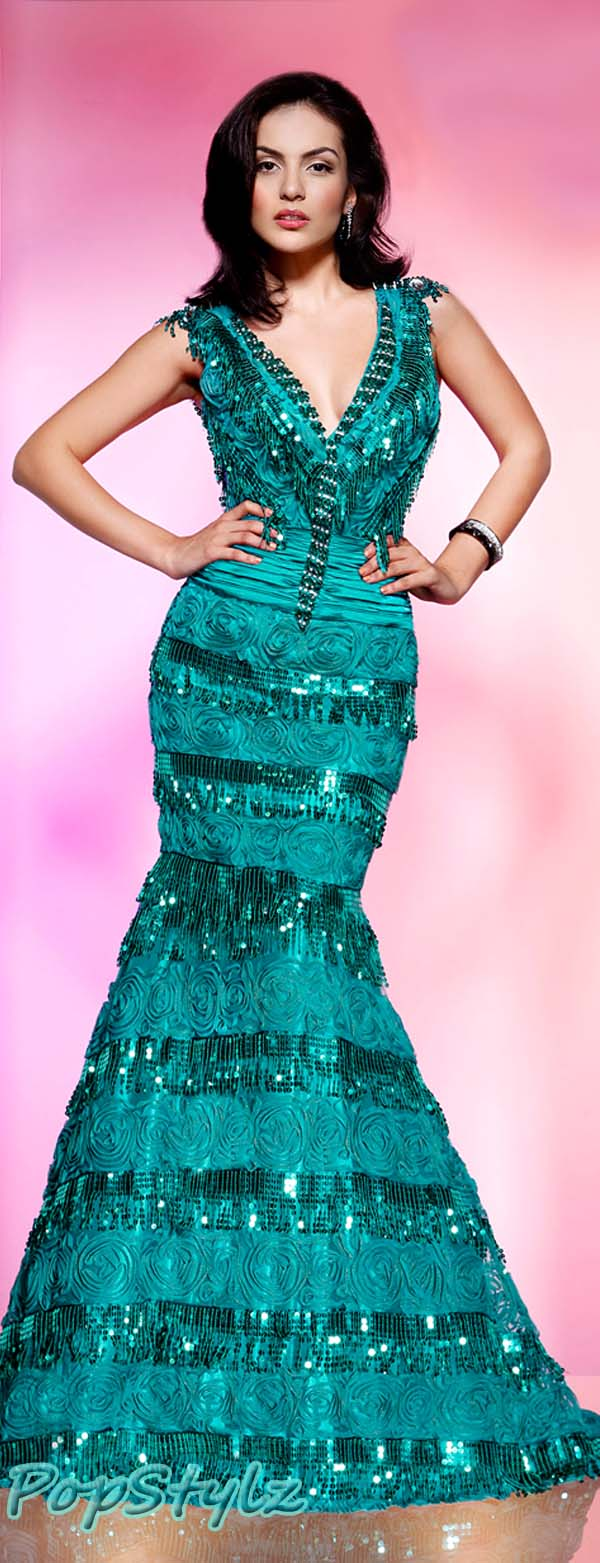 MNM Aqua Couture 7208 Dress