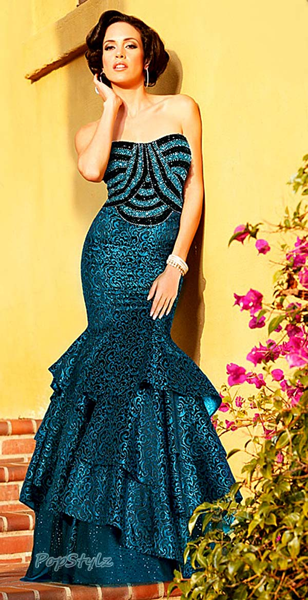 MNM Blue Couture KH-059 Dress