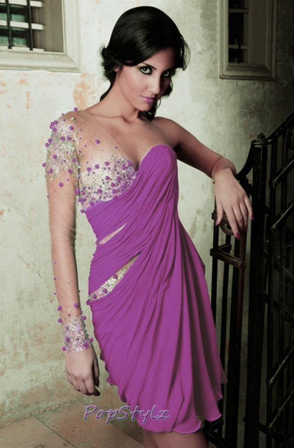 MNM Light Purple Couture 9012 Dress