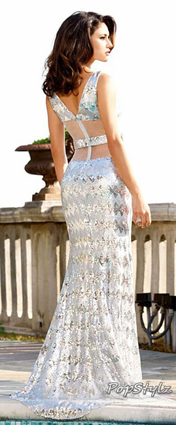 MNM Silver Couture 7611 Dress