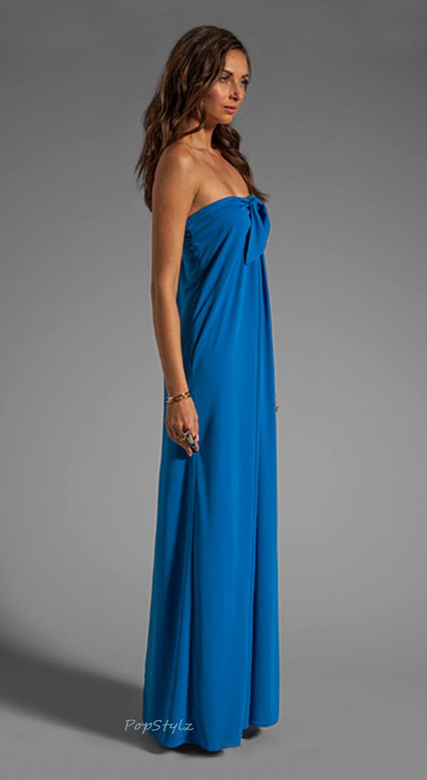 Halston Heritage Aquamarine Gown