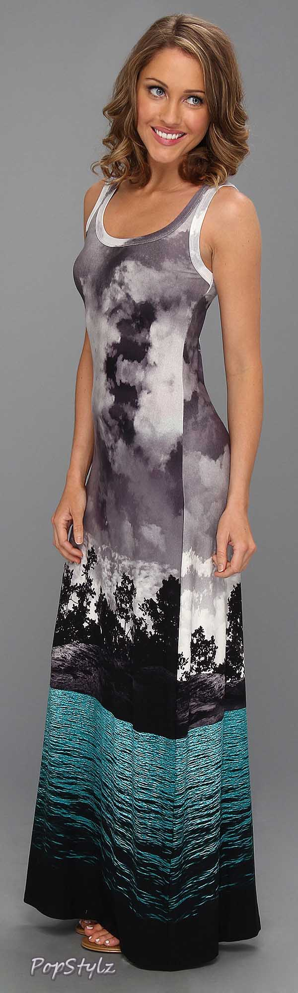 Karen Kane Photoreal Maxi Dress