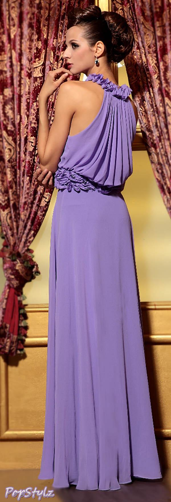 Zuhair Murad Purple Evening Dress