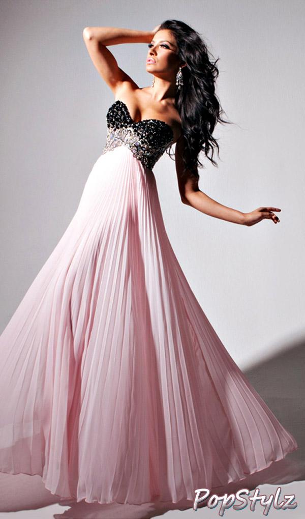 Tony Bowls 11307 Pink Dress