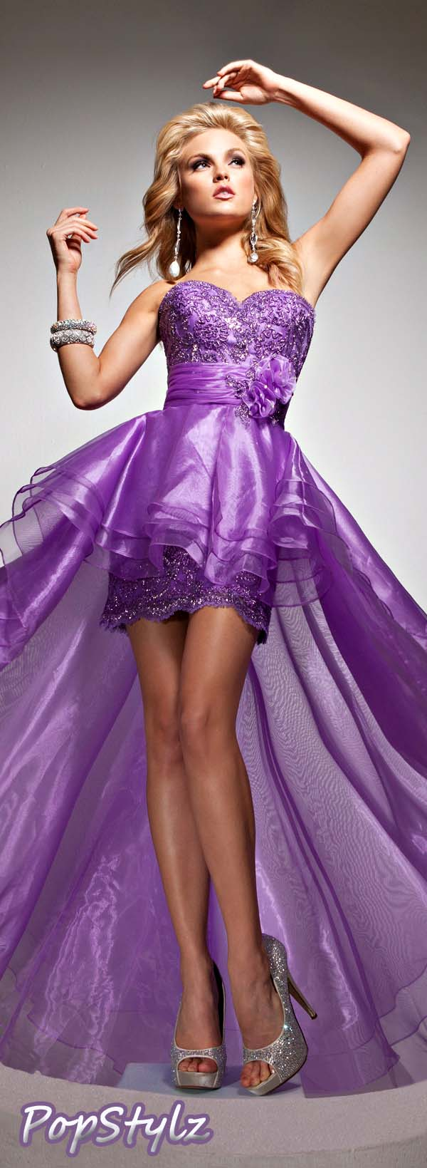 Tony Bowls 113715 Purple Dress