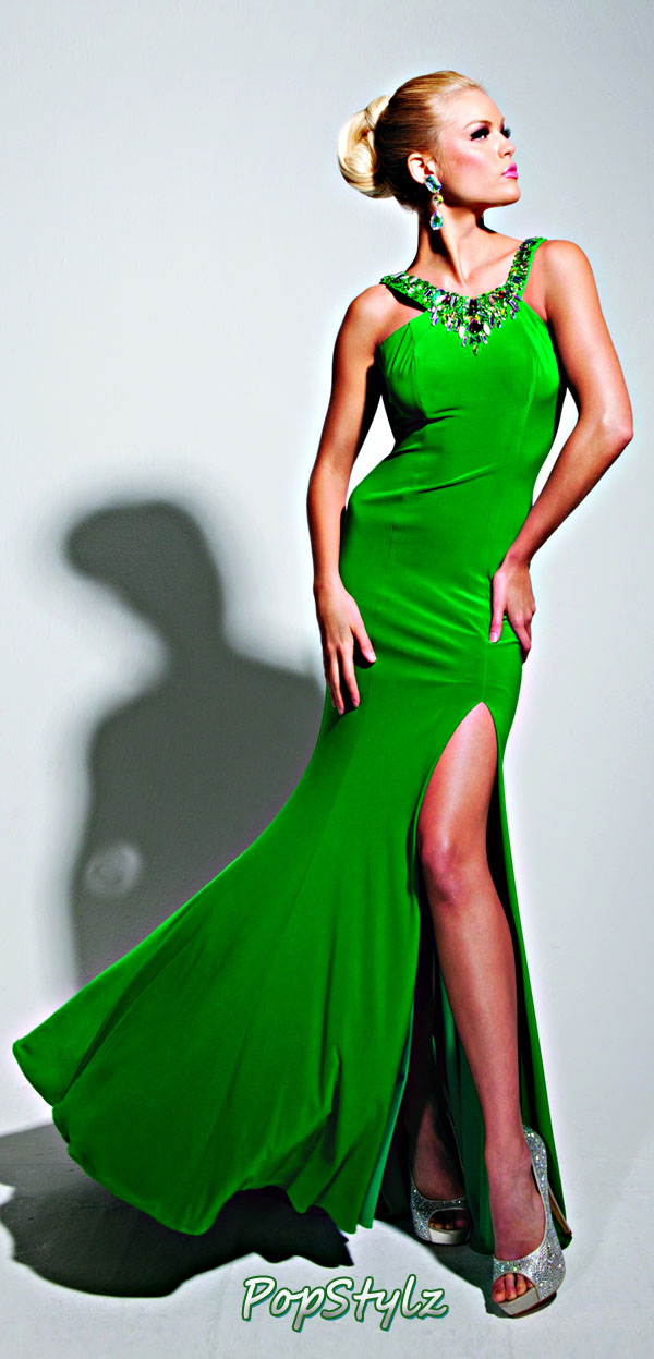 Tony Bowls TBE11338 Emerald Gown