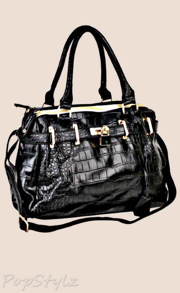 MG Collection TAIT Satchel Handbag