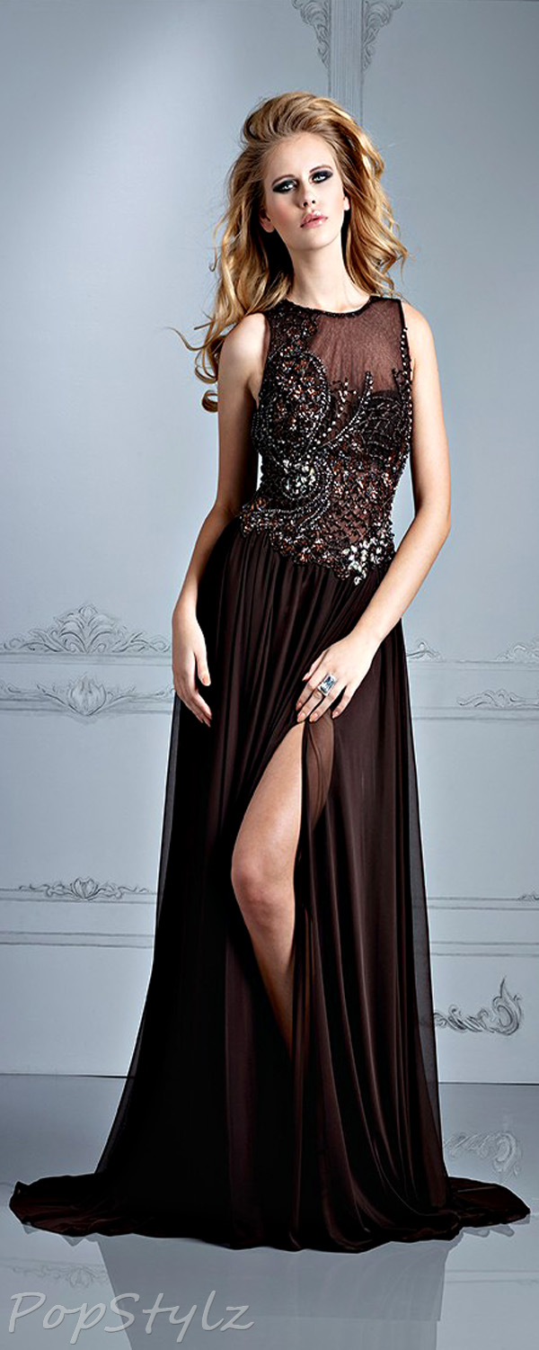 Terani Couture E2117 Evening Fall 2013 Dress