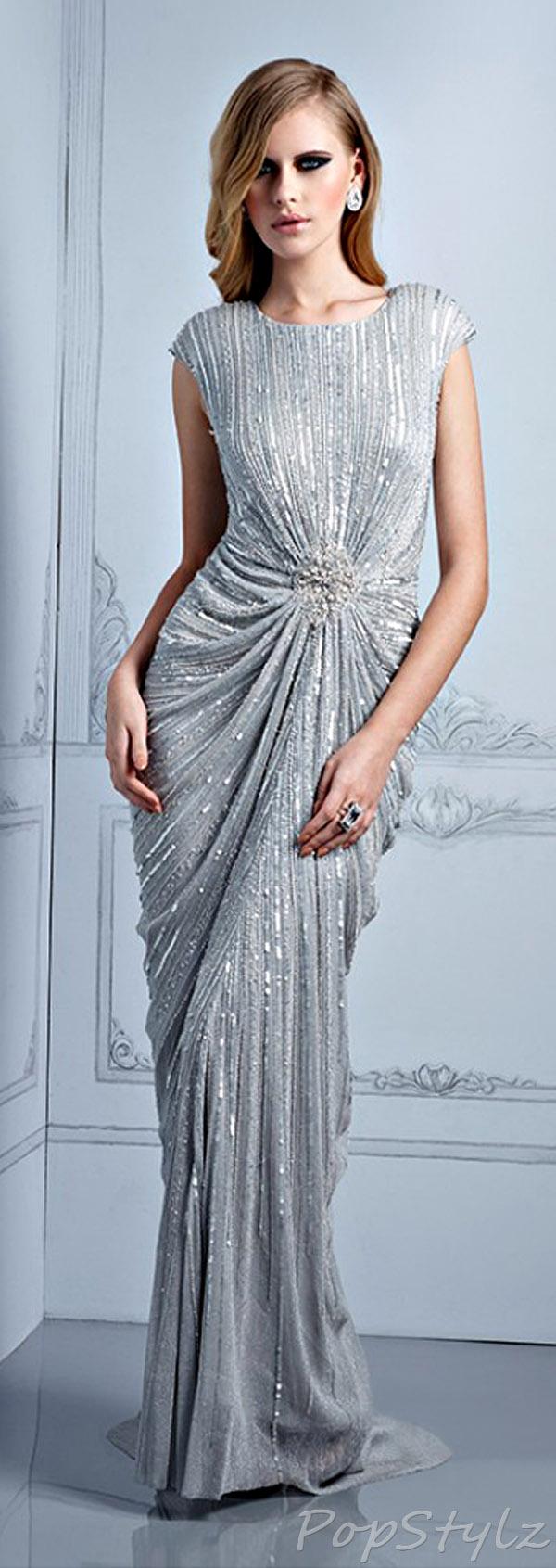 Terani Couture M2242 Evening Fall 2013 Dress