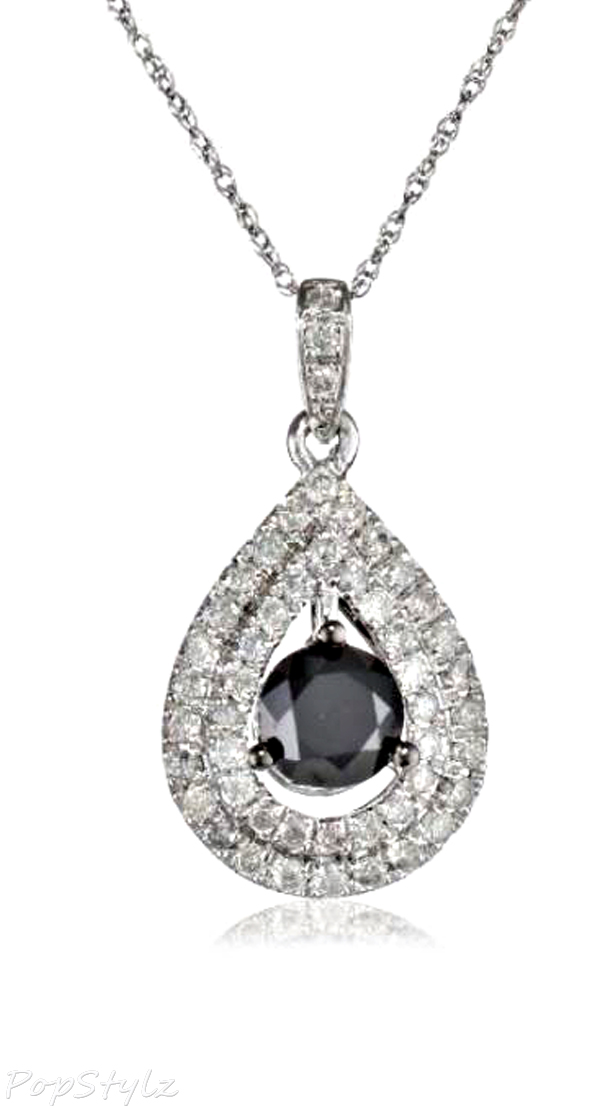 Sapphire and Pearl Diamond Necklace