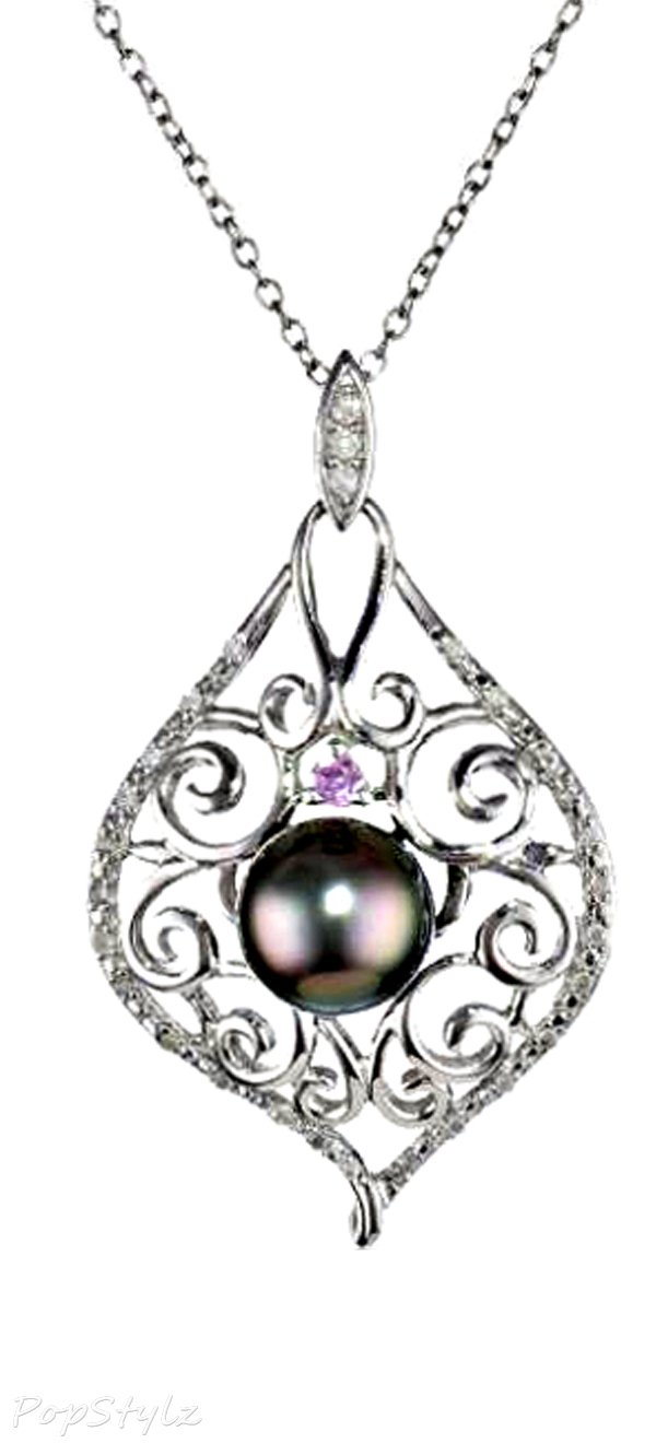 Pearl and Diamond Necklace