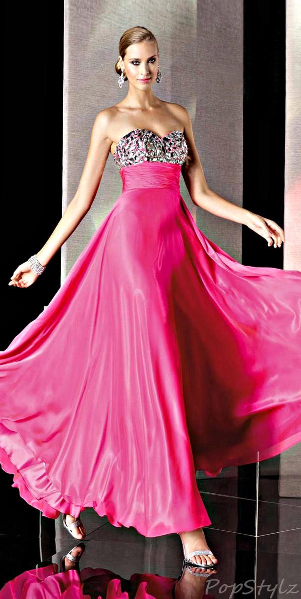 Alyce Designs 35510 Strapless Gown