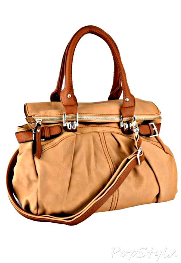 MG Collection Gabby Oversized Hobo Handbag