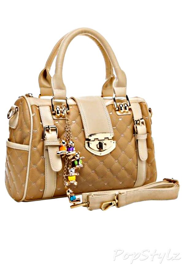 MG Collection Karasi Quilted Handbag