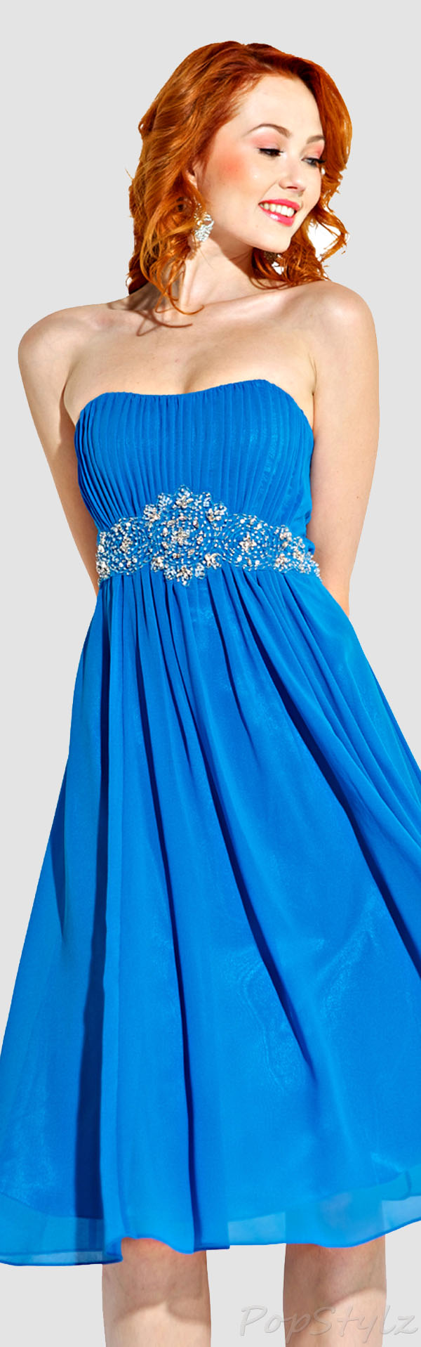 PacificPlex Chiffon Goddess Gown