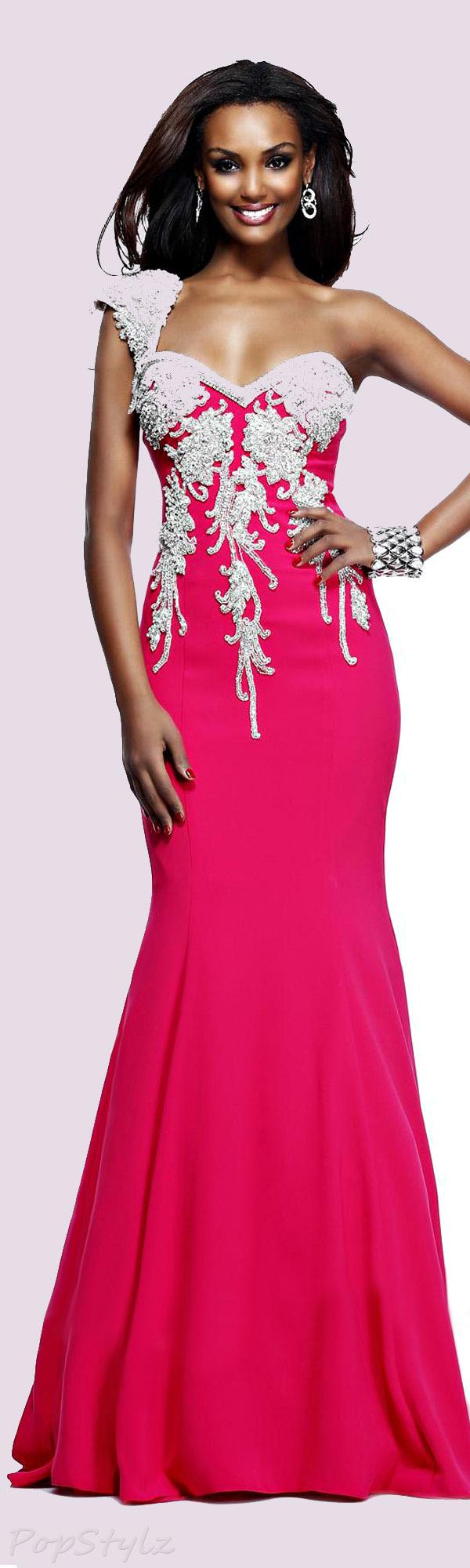 Tarik Ediz 92198 Evening 2014 Gown