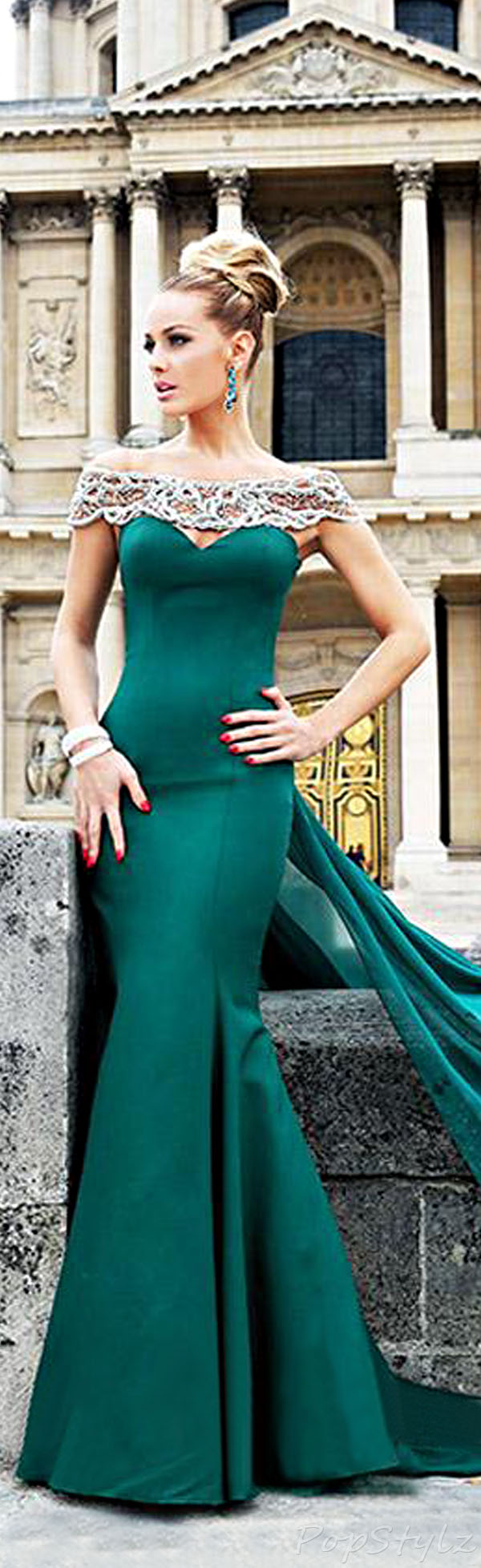 Tarik Ediz 92219 Elegant Gown