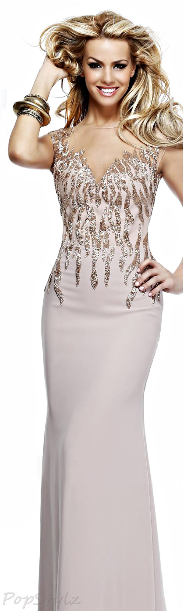 Tarik Ediz 92273 2014 Gown