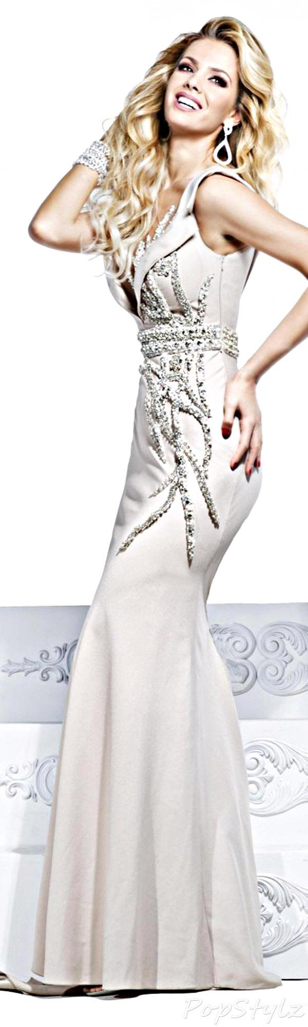 Tarik Ediz Evening 2014 Gown 92228