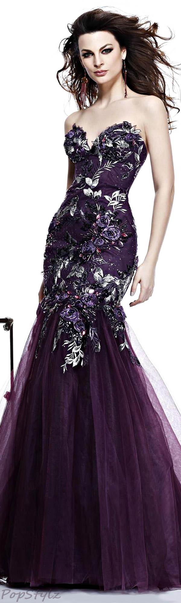 Tarik Ediz 2014 Evening Gown 81053