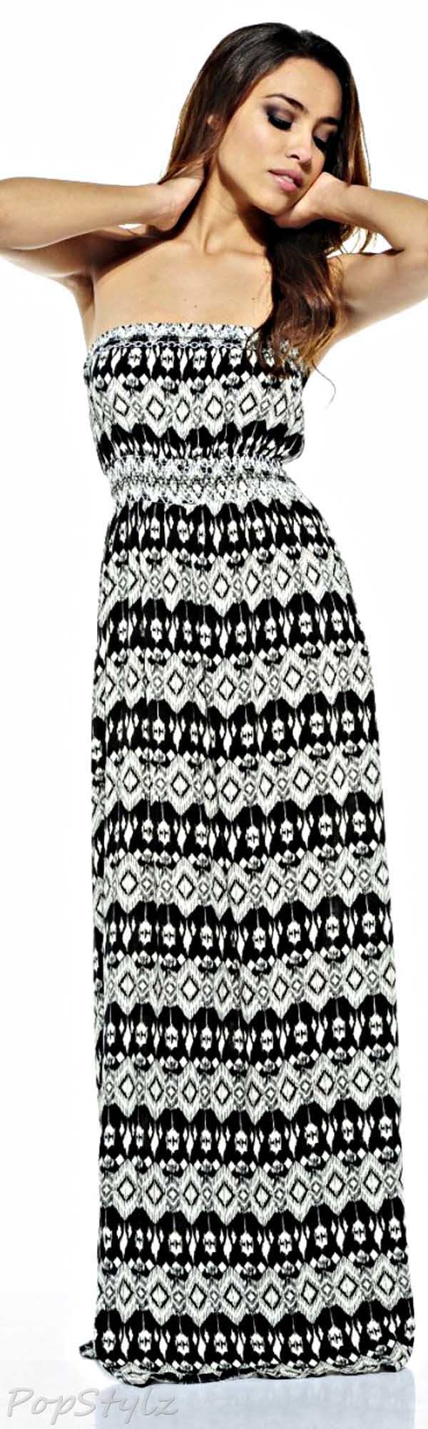 AX Paris Aztec Printed Maxi Dress