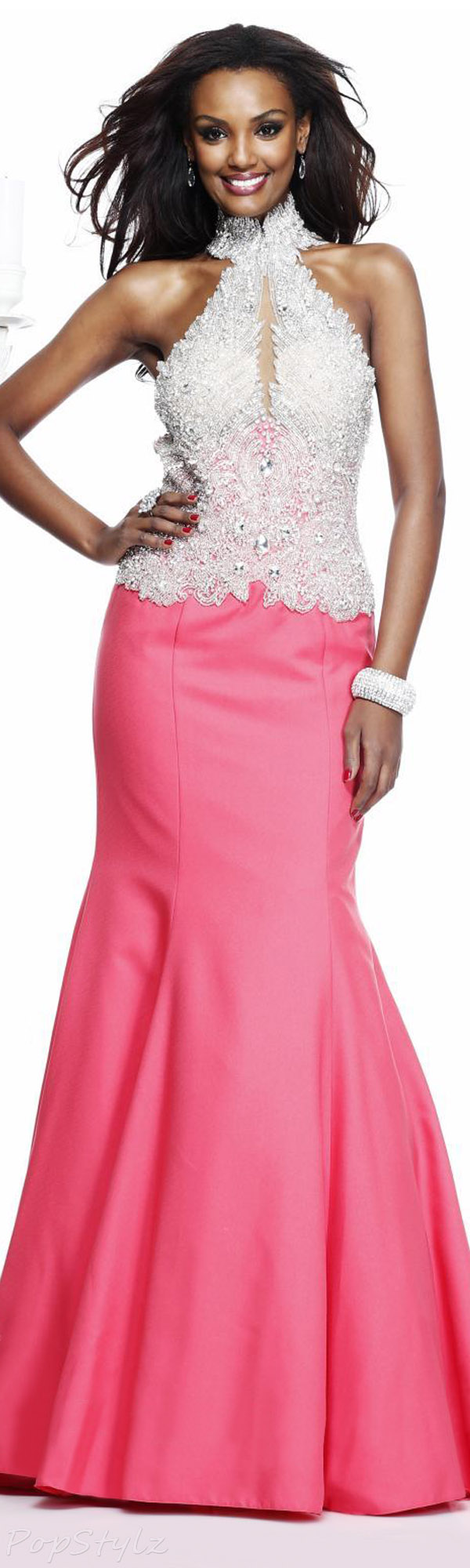 Tarik Ediz 92251 Evening Gown
