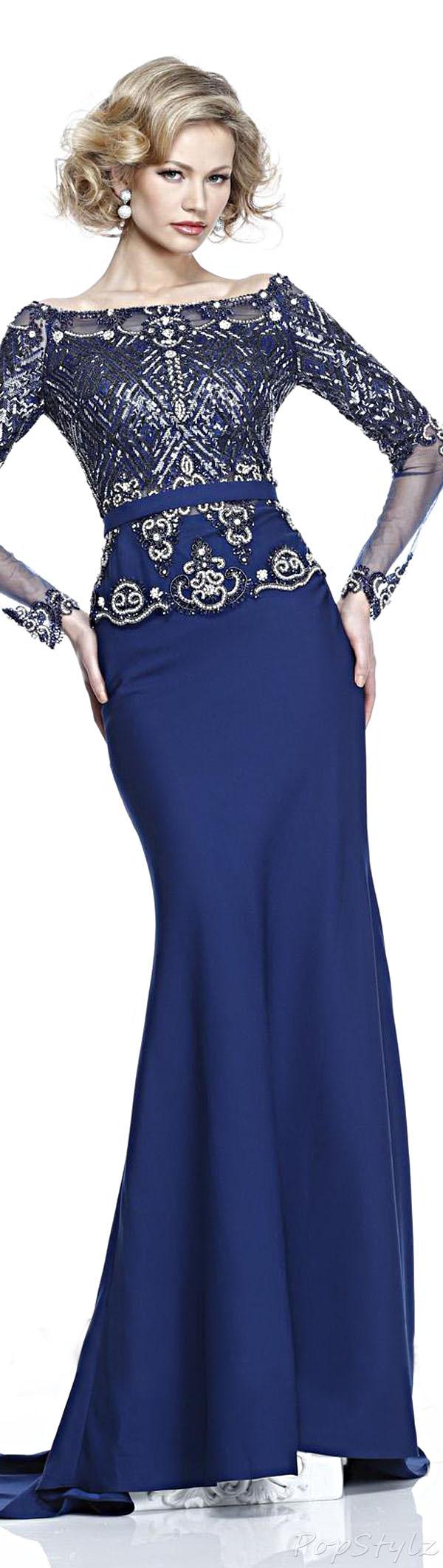 Tarik Ediz 92230 Evening Gown