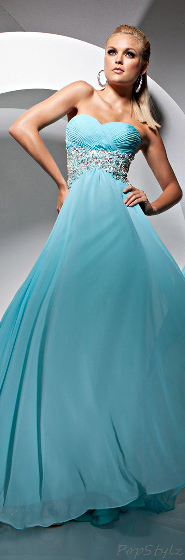 Tony Bowls TB113716B Paris Spring 2013 Gown