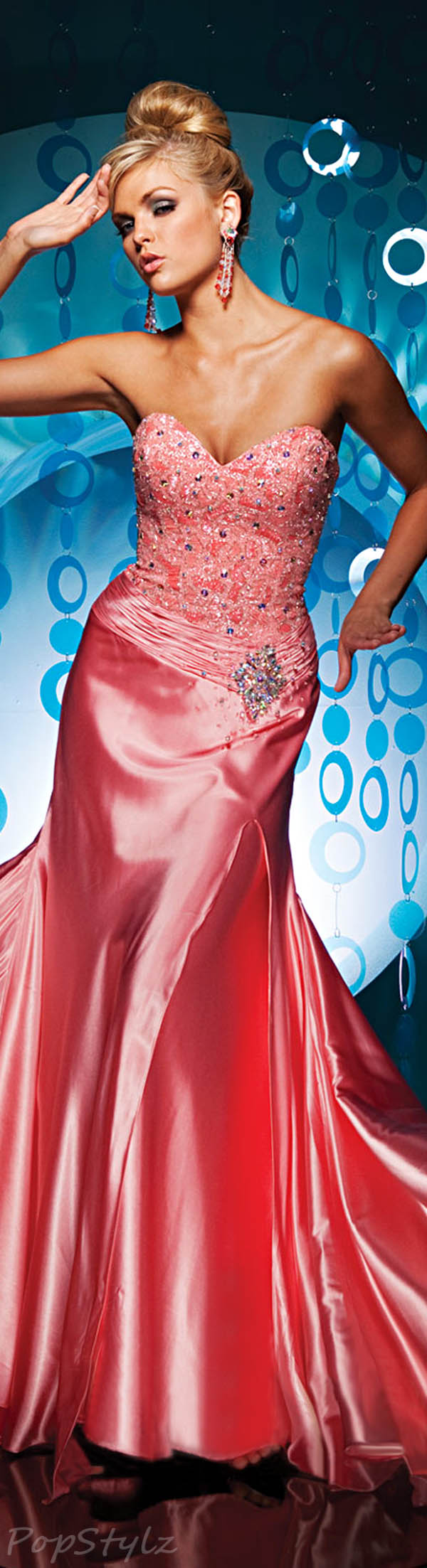 Tony Bowls 111738 Evening Gown
