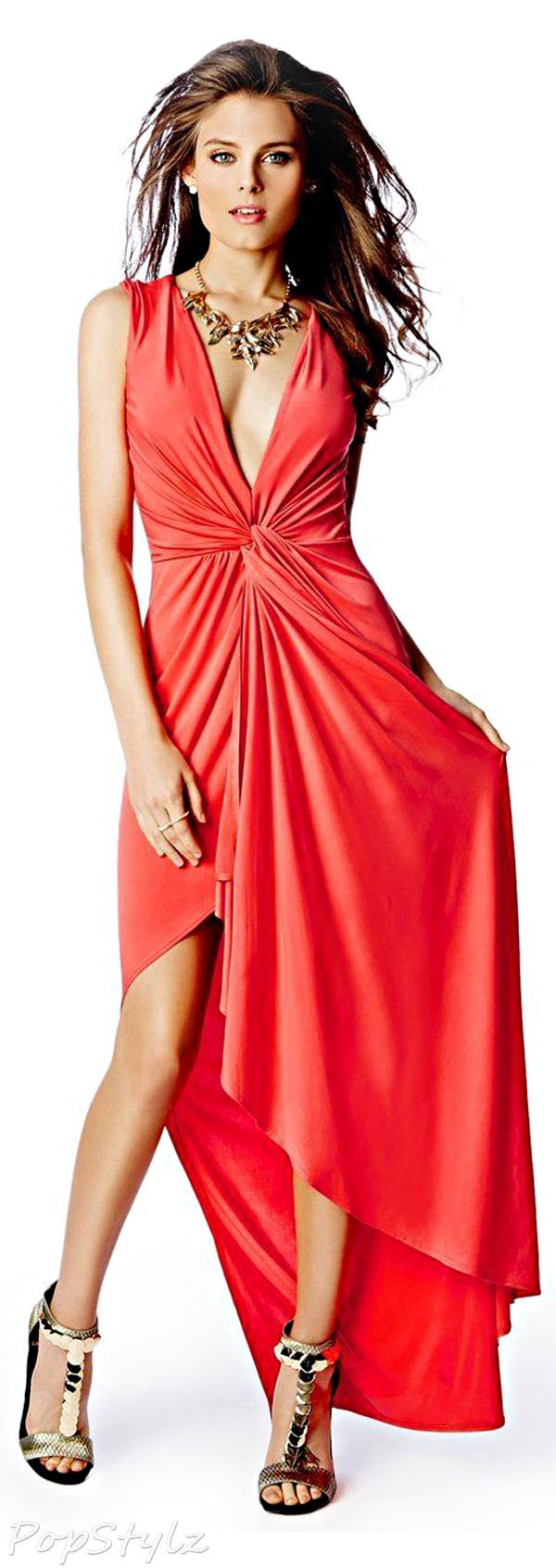 GUESS by Marciano Sofia Sleeveless Gown
