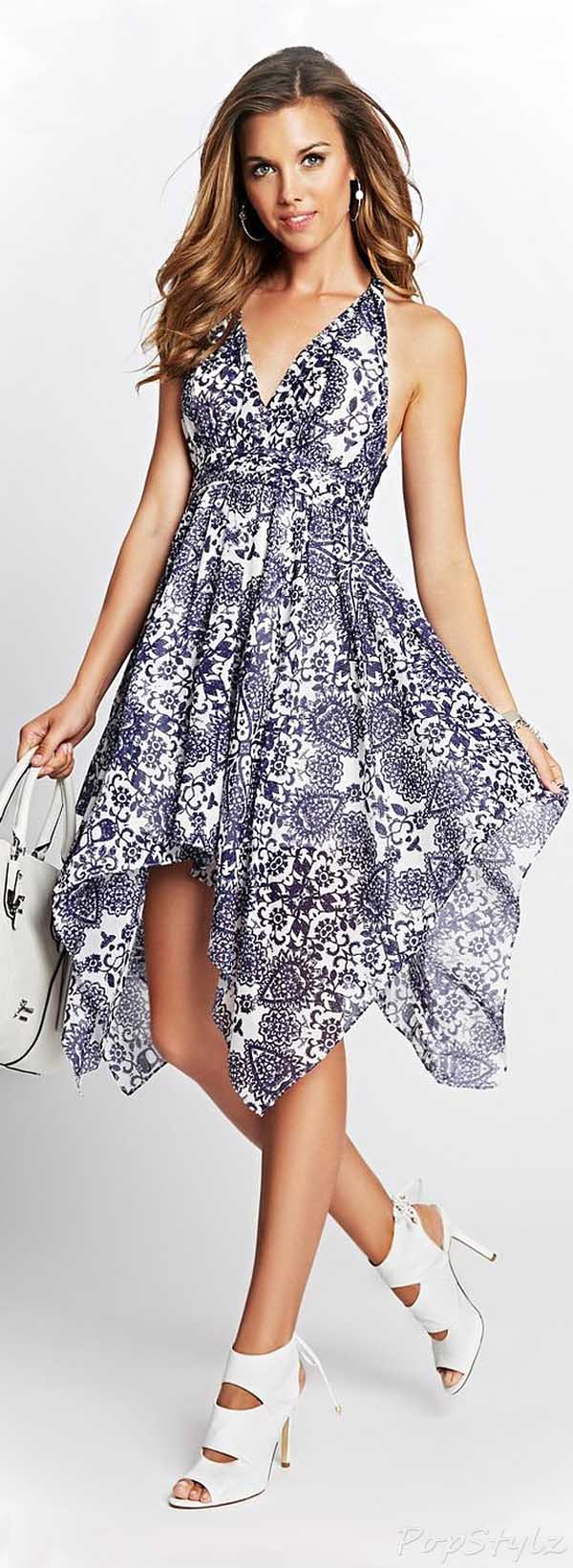 Guess Gia Moroccan-Print Dress