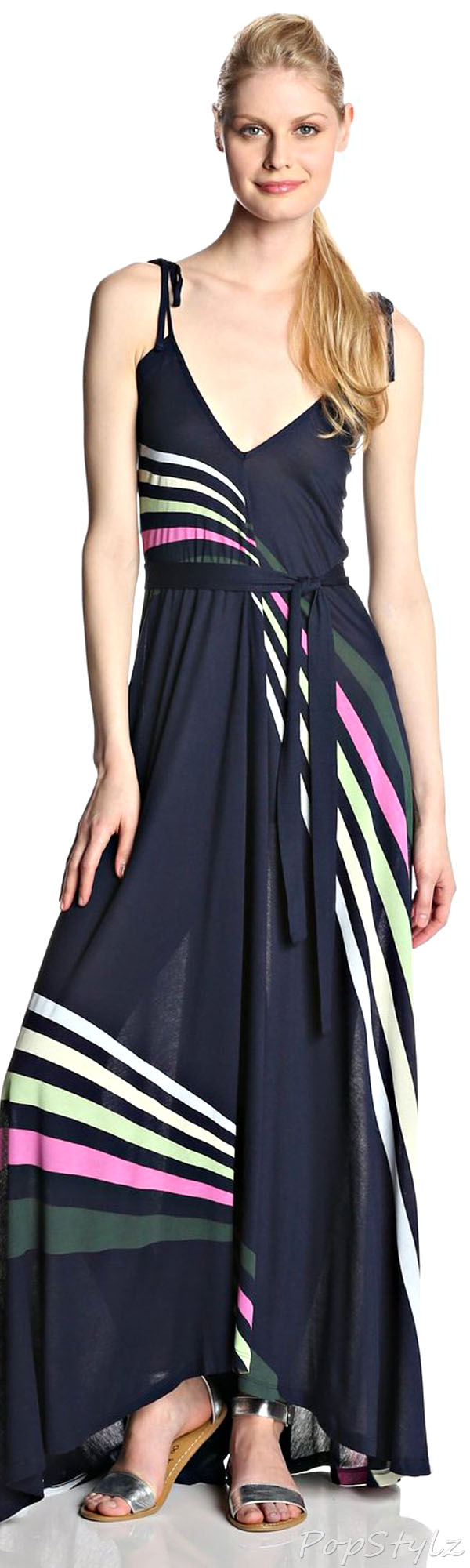 French Connection Rainbow Maxi Dress