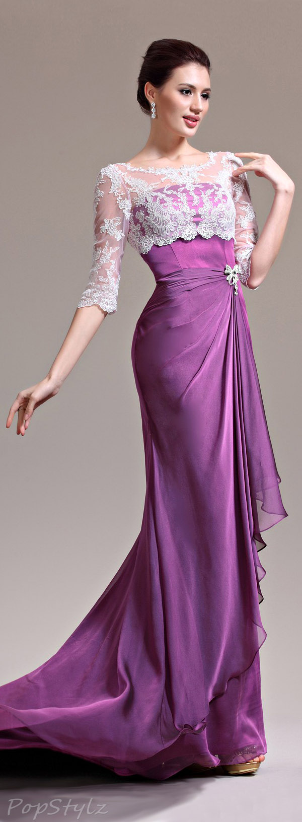 eDressit 26134512 Purple Gown