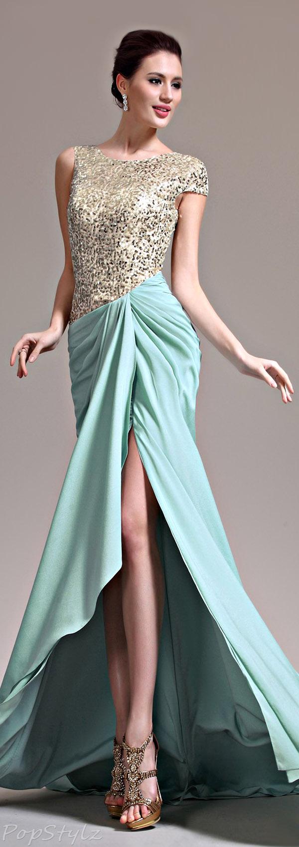 eDressit Asymmetric Evening Gown