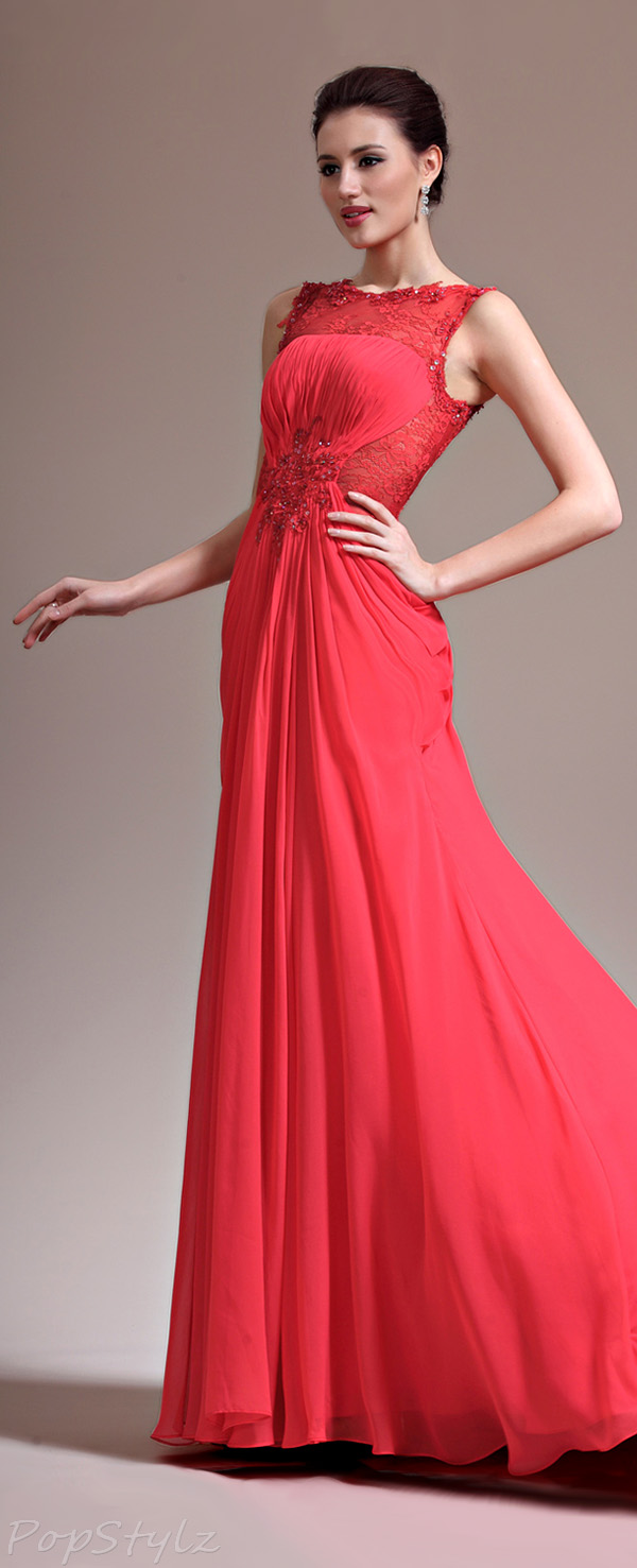 eDressit Overlace Evening Gown