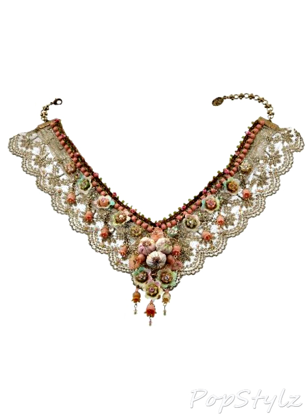 Michal Negrin Handmade Swarovski Crystals Necklace