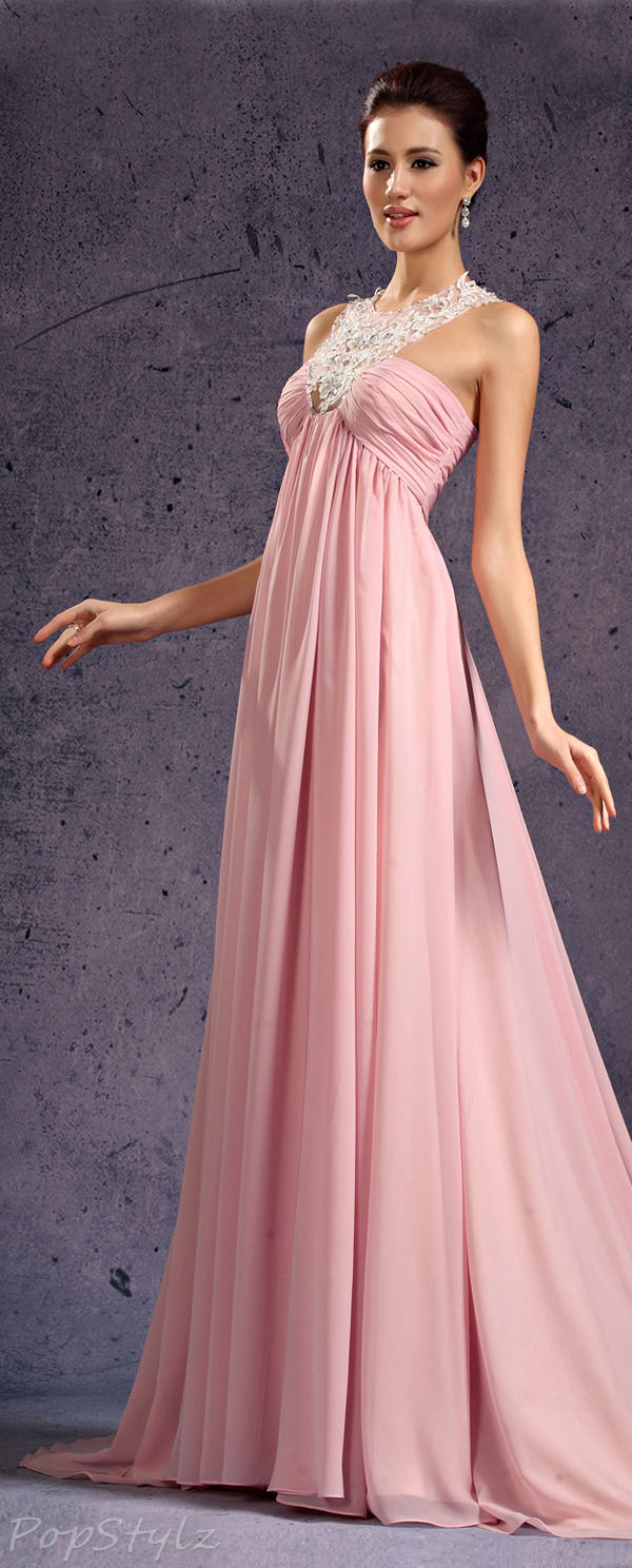 eDressit Halter Evening Gown
