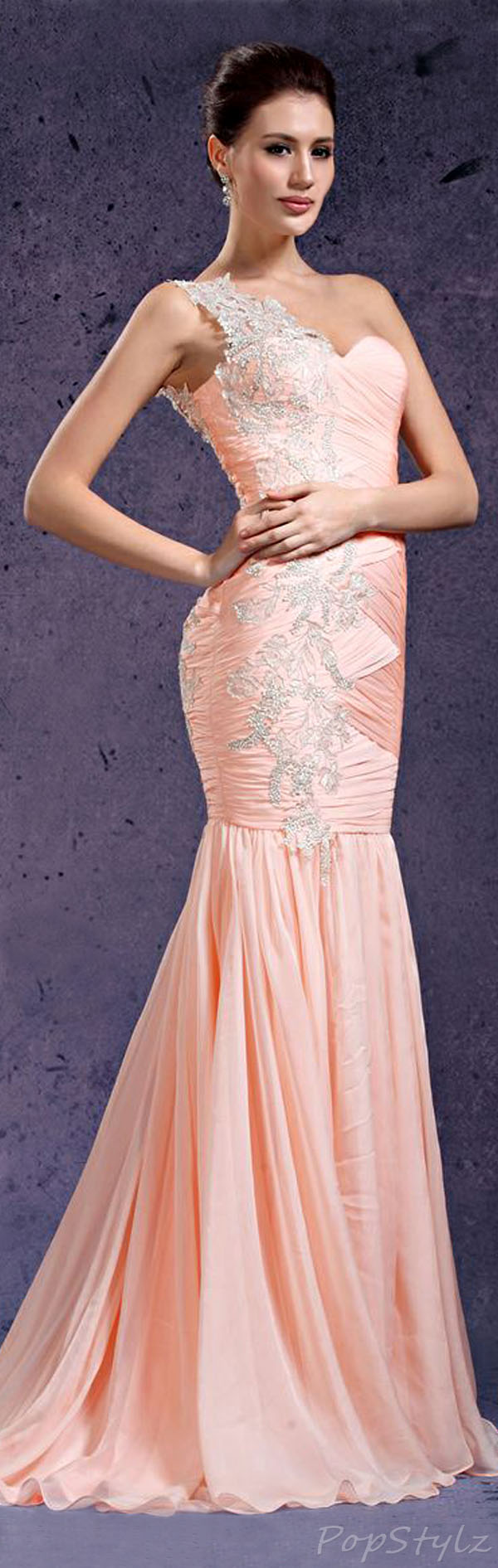 eDressit Pink Evening Gown
