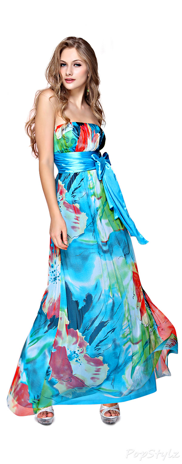 Ever Pretty 09653 Floral Printed Gown