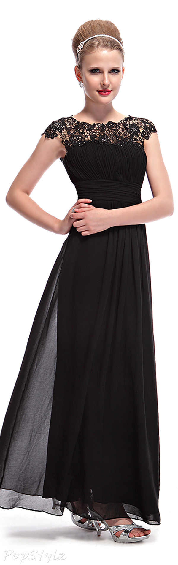 Ever Pretty 09993 Lacy Black Dress