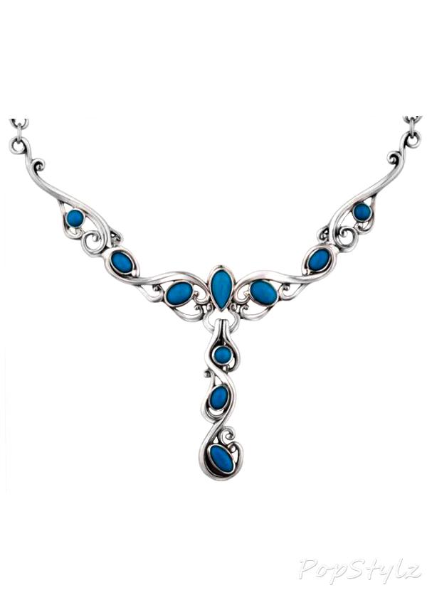 Sleeping Beauty Genuine Turquoise Necklace