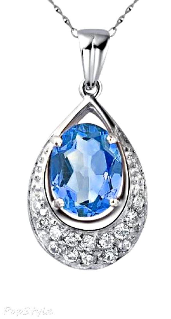 18k-white-bold-genuine-blue-topaz-necklace