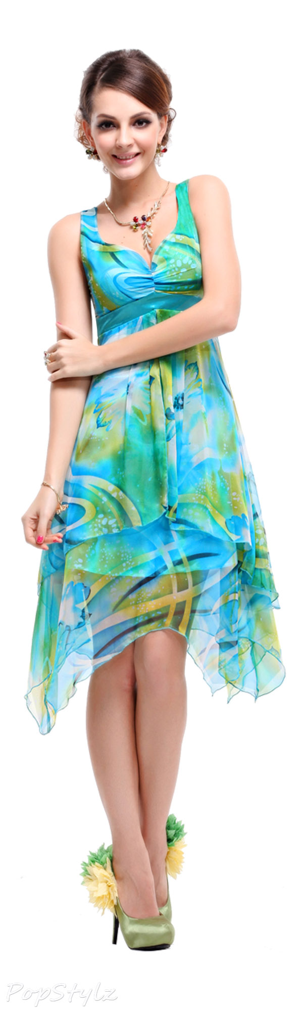 Ever Pretty 03187 Floral Printed Summer Dress