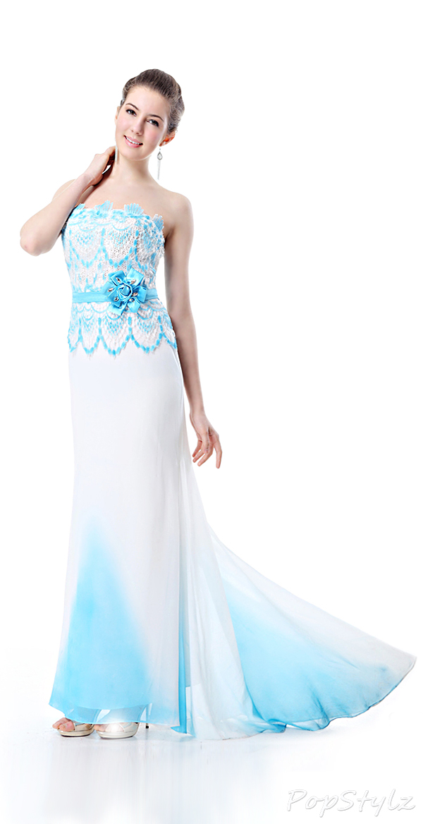 Ever Pretty 09068 Trailing Evening Dress