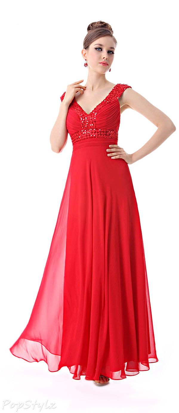 Ever Pretty 09761 Cross Back Evening Gown