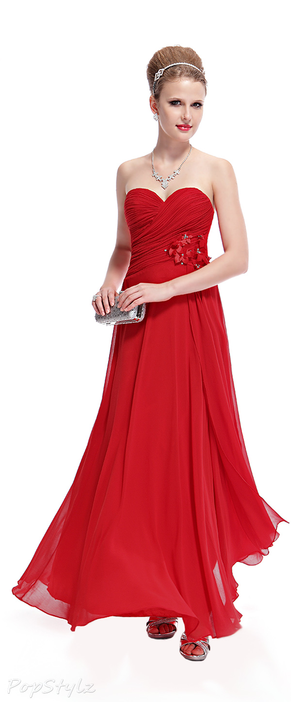 Ever Pretty 09940 Strapless Ruched Bust Dress